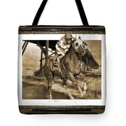 And Away We Go Tote Bag by Betsy Knapp