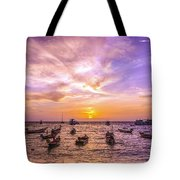 And Every Sunset Will Bring You That Much Nearer... Tote Bag