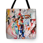 and I trust in You Tote Bag