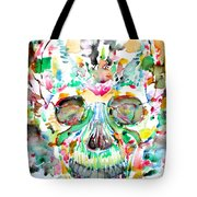 And Joining At Last Its Mighty Origin Tote Bag