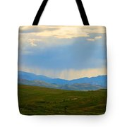 And So It Continues Tote Bag