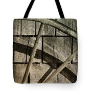 And The Big Wheel Goes Around Tote Bag