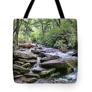 ...and The Creek Don't Rise Tote Bag