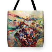 And The Earth Opens Its Mouth Tote Bag