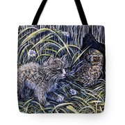 And The Grasshopper Says.. Owl Be Seeing U Tote Bag
