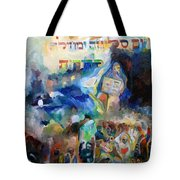 And The Holy One  Blessed Is He Fixed The Day Of Forgiveness And Pardon For All Generations Tote Bag
