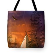 And The Home Of The Brave Tote Bag