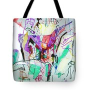 And The Man Looked In Wonderment Tote Bag