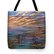 And The Trees Clapped Their Hands Tote Bag