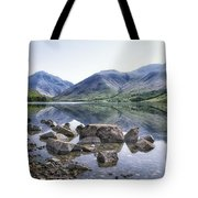 And There Was Peace... Tote Bag
