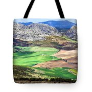 Andalucia Landscape In Spain Tote Bag