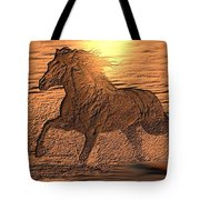 Andalusian Sunset Tote Bag