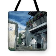 Andalusian White Village Tote Bag