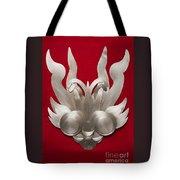 Andean Devil Mask Tote Bag