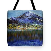Andes Mountain Tote Bag