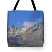 Andes Mountains 1 Tote Bag