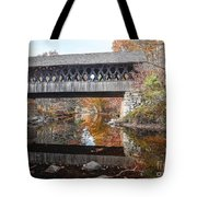Andover Covered Bridge Tote Bag