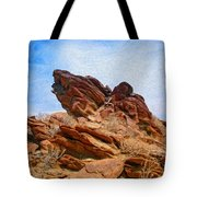 Andreas Canyon Tote Bag