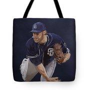 Andrew Cashner Tote Bag