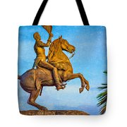 Andrew Jackson - Paint Tote Bag