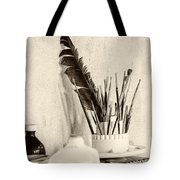 Andrew's Feather Tote Bag