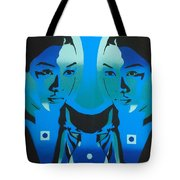 Android Twins Tote Bag