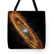 Andromeda Galaxy Tote Bag by Adam Romanowicz