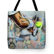 Andy Murray - Wimbledon 2013 Tote Bag