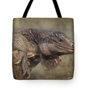 Anegada Ground Iguana - Houston Zoo Tote Bag
