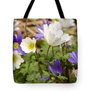 Anemone Blanda Tote Bag