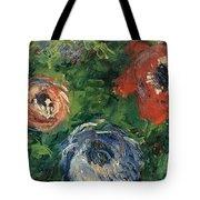 Anemonies Tote Bag