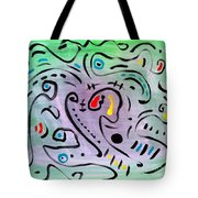 Angel Among Thieves Tote Bag