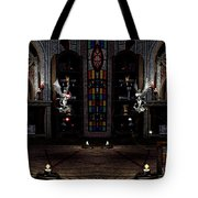 Angel And Devil Tote Bag