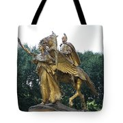 Angel And Tecumseh Sherman Tote Bag