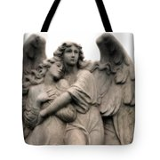 Angel Photography Guardian Angels Loving Embrace Tote Bag
