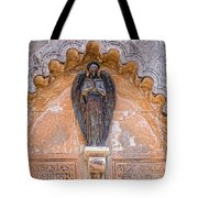 Angel Black Tote Bag