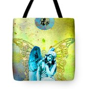 Angel Blessings 3 Tote Bag