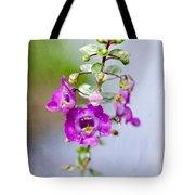 Angel Face Flower - Summer Snapdragon Tote Bag