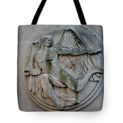 Angel In A Wall Tote Bag