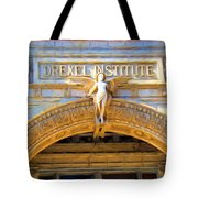 Angel In Drexel Tote Bag