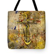 Angel In Journey Tote Bag