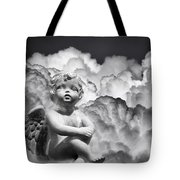 Angel In The Clouds Tote Bag