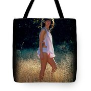 Angel In The Grasses 3 Tote Bag