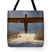 Angel In The Snow II Tote Bag