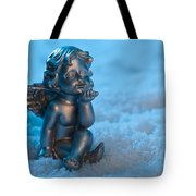 Angel In The Snow Tote Bag