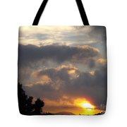 Angel In The Sunrise Tote Bag