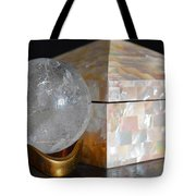 Angel In The Window Still Life Tote Bag