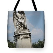 Angel Made From Stone Tote Bag