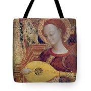 Angel Musician Tote Bag