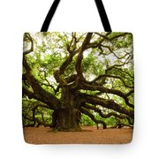 Angel Oak Tree 2009 Tote Bag by Louis Dallara